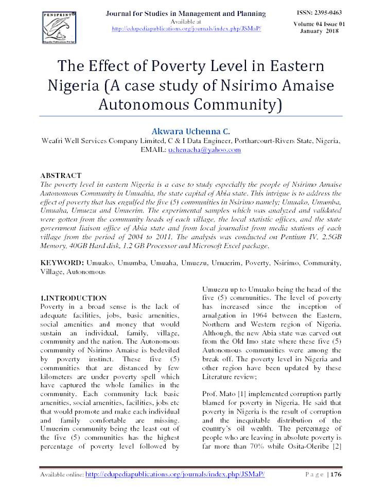 Why is a study on poverty important? - Quora